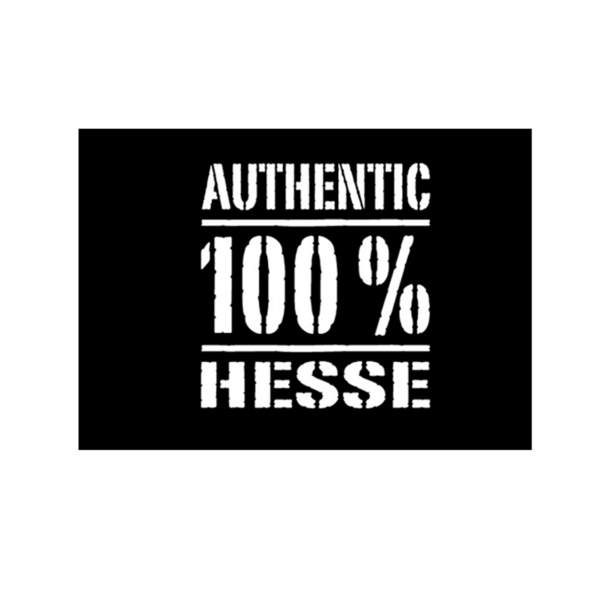 Authentic 100% Hesse Postkarte