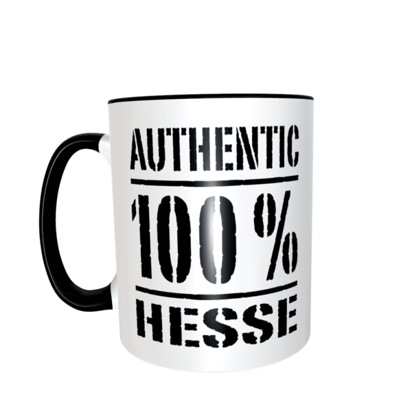 """Authentic 100% Hesse"" Tasse"